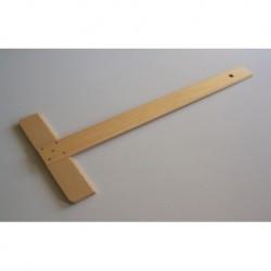 Té à dessin bois 65 cm