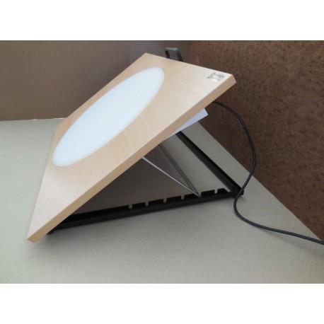 Planche d'animation lumineuse 90 x 65 cm